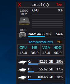 desktop gadgets application windows 7