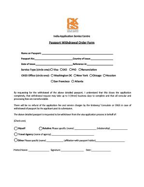 indian visa application form chicago