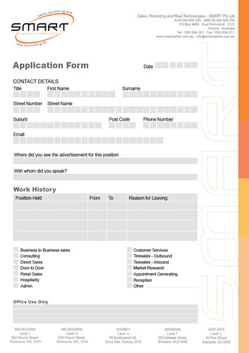 create free online application forms