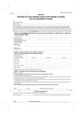 application for address change for gas connection