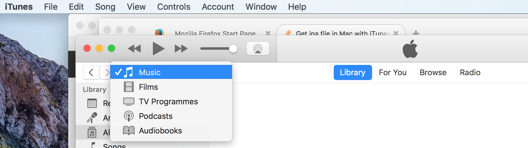 how to get to applications support folder mac