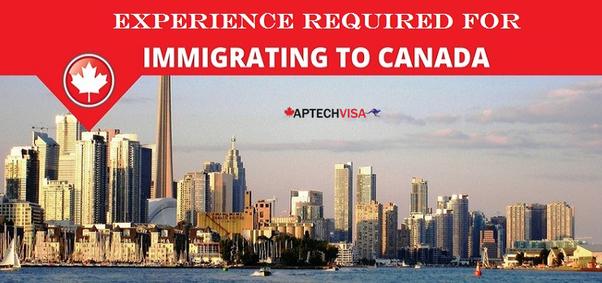 pr visa application work experience