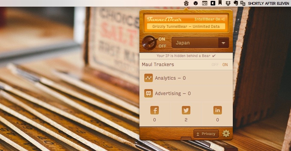 what is tunnelbear and how to usse the application