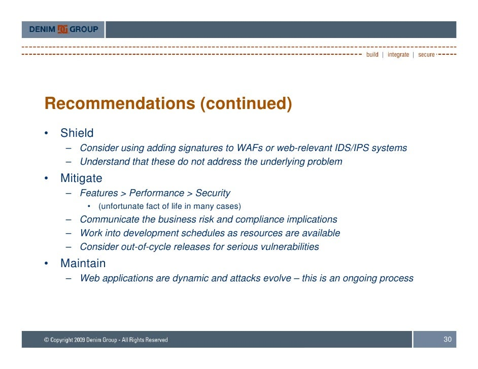 top 10 security issues in web applications