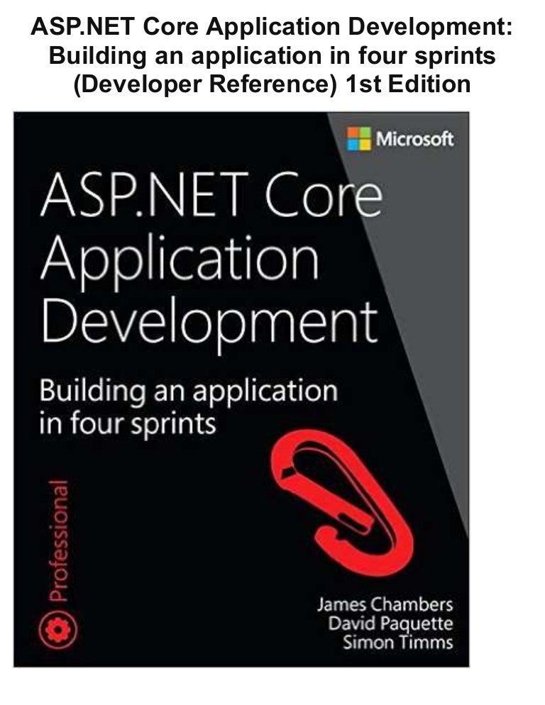 application development on net pdf