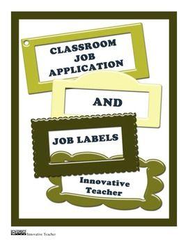 job application formulate innovative solutions