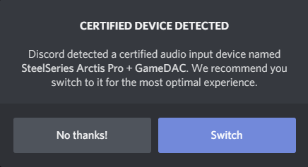 discord mic not working after starting application