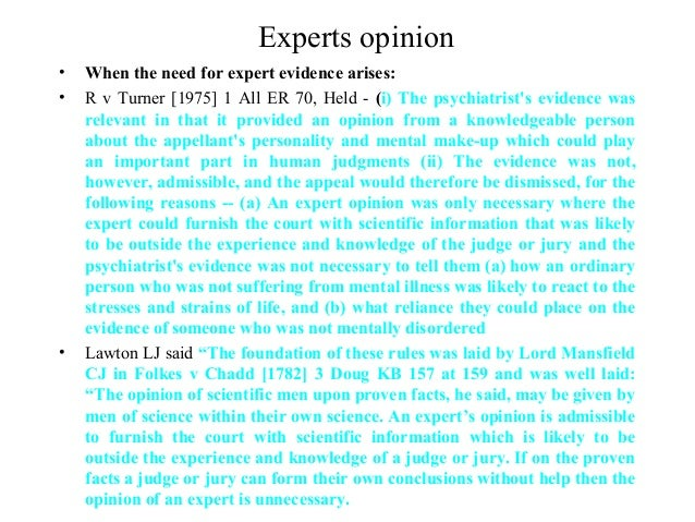 where application is dismissed for lack of expert evidence