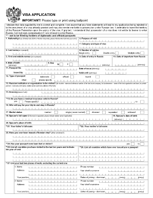 application forms visa to russia mongolia