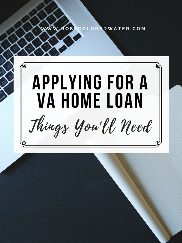 things needed for mortgage application