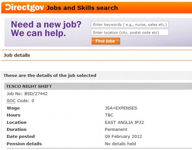 jobcentre plus job seekers allowance online application
