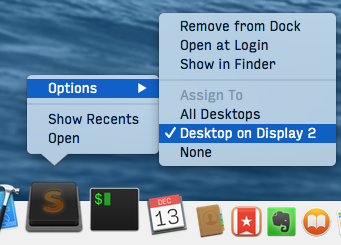 force application to move to a monitor