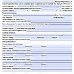 chalk real estate rental application form