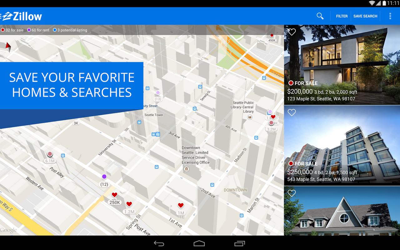 real estate web application download