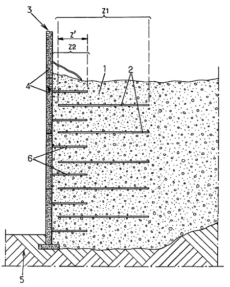 application of reinforced earth wall