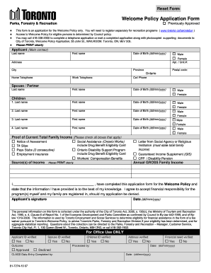 canada child tax benefit application form