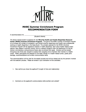 division of tropical health and medicine application form