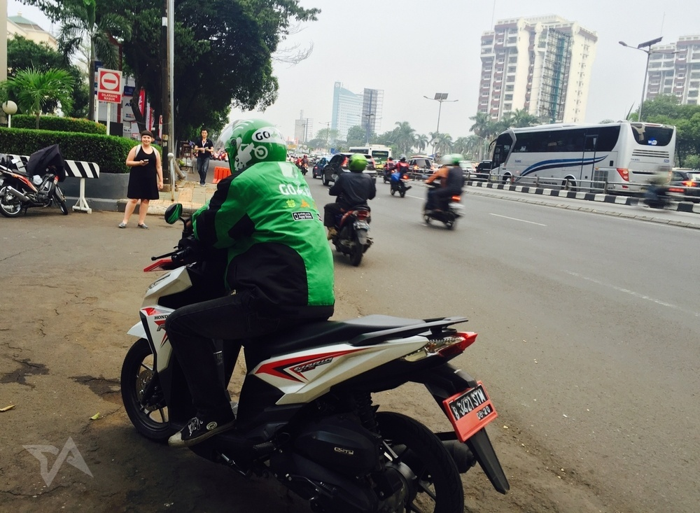 how to set up pick up point on grab application