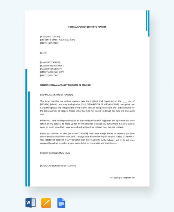 how to make application letter for teacher