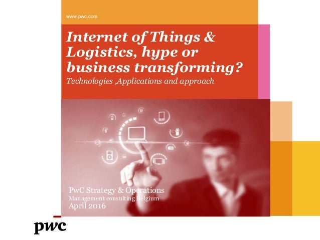 the application of internet of things in logistics
