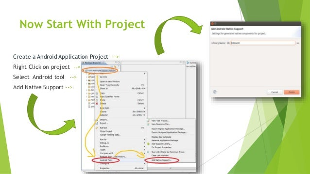android ndk your android application project path contains spaces