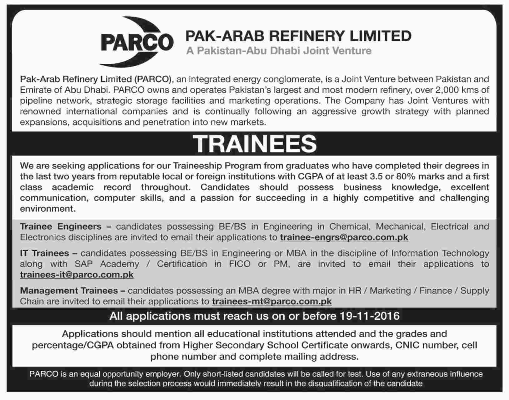 application for job apply sample in pakistan