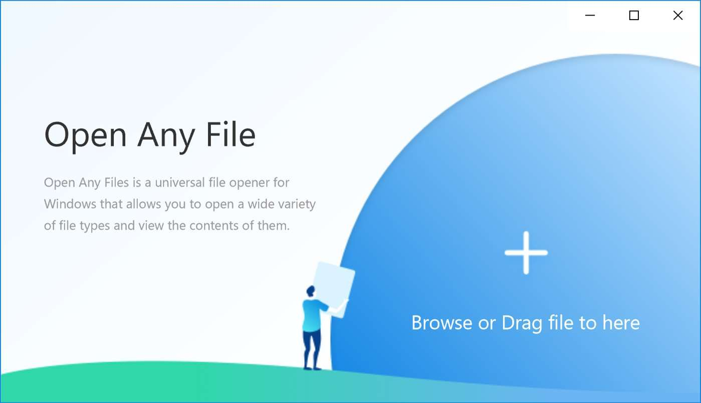 application to open dlg file windows 10