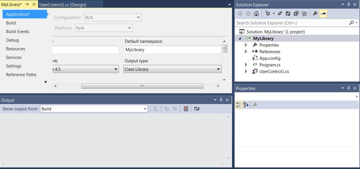 create windows form application c visual studio 2013