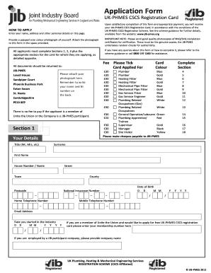 cscs card application form download