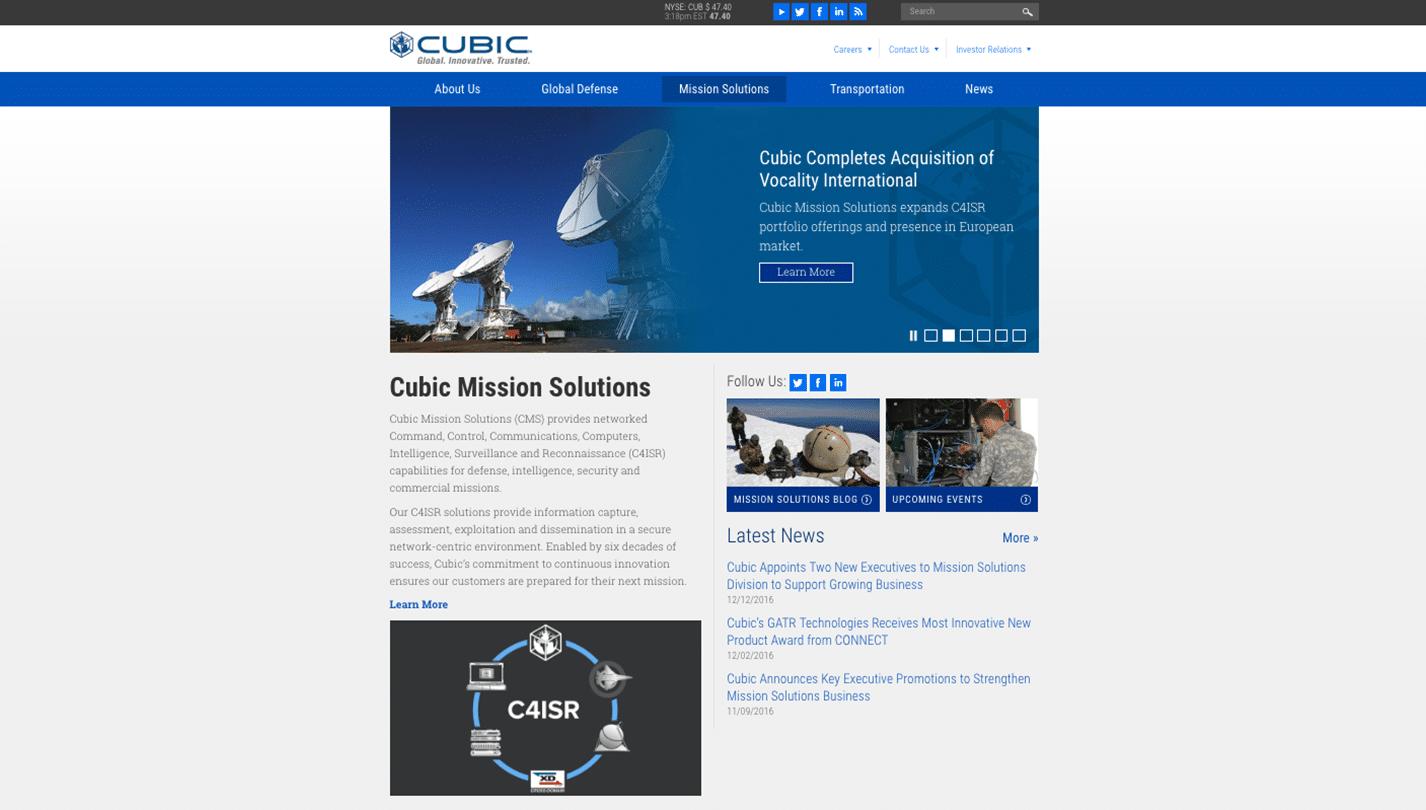 cubic defense applications san diego