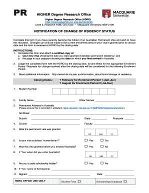macquarie university international scholarship application form