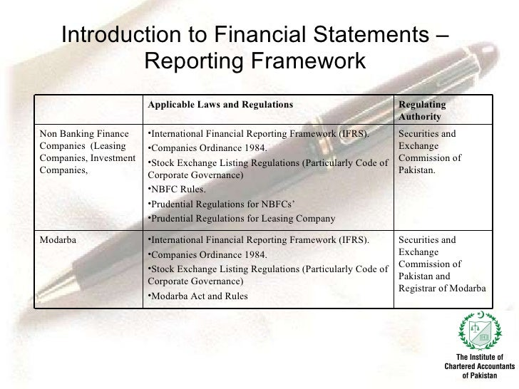 define applicable financial reporting framework