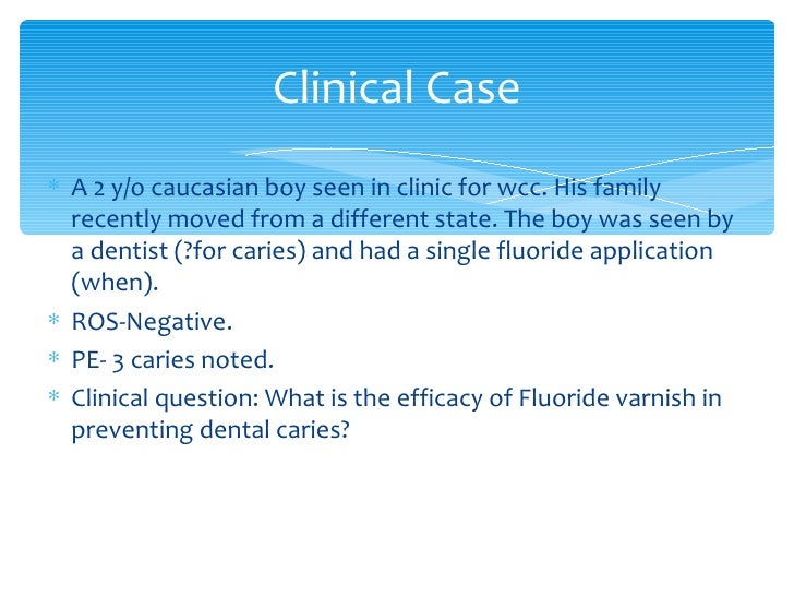dentist topical application of flouride