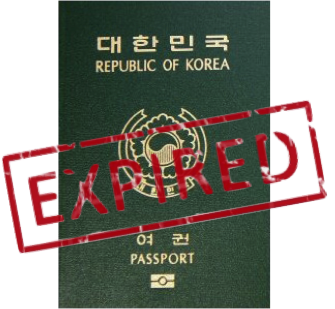 do i need to bring expired passport for new application