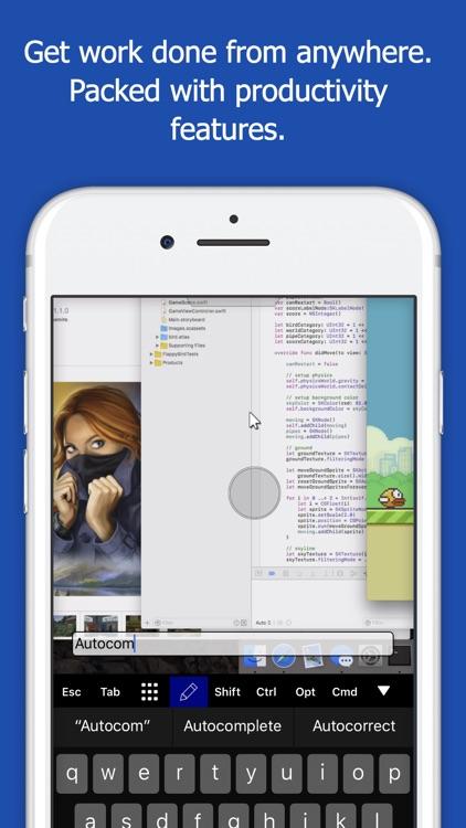 setting up remote desktop applications