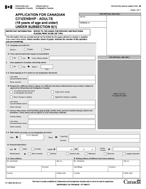application for canadian citizenship adults form cit 0002