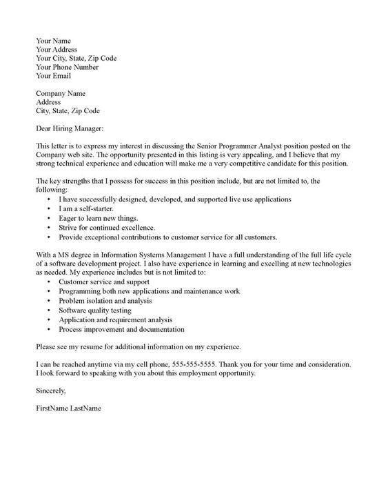 example of application letter teacher
