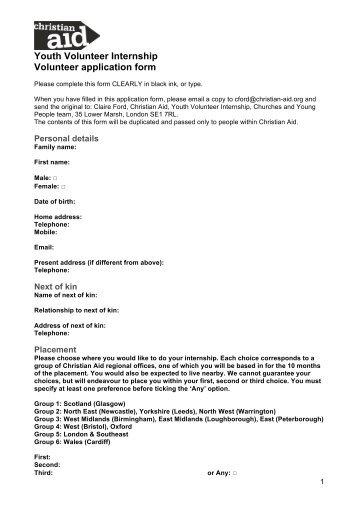 www christianaid org uk jobs application form