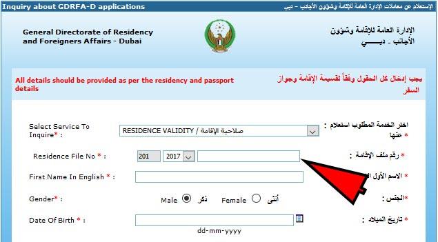 how the status of partner visa application look like