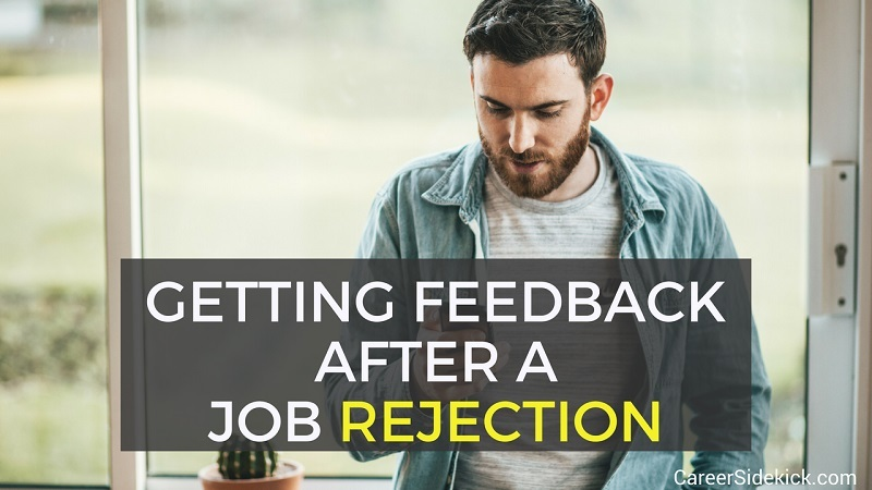 how to ask for reasons after job application rejection