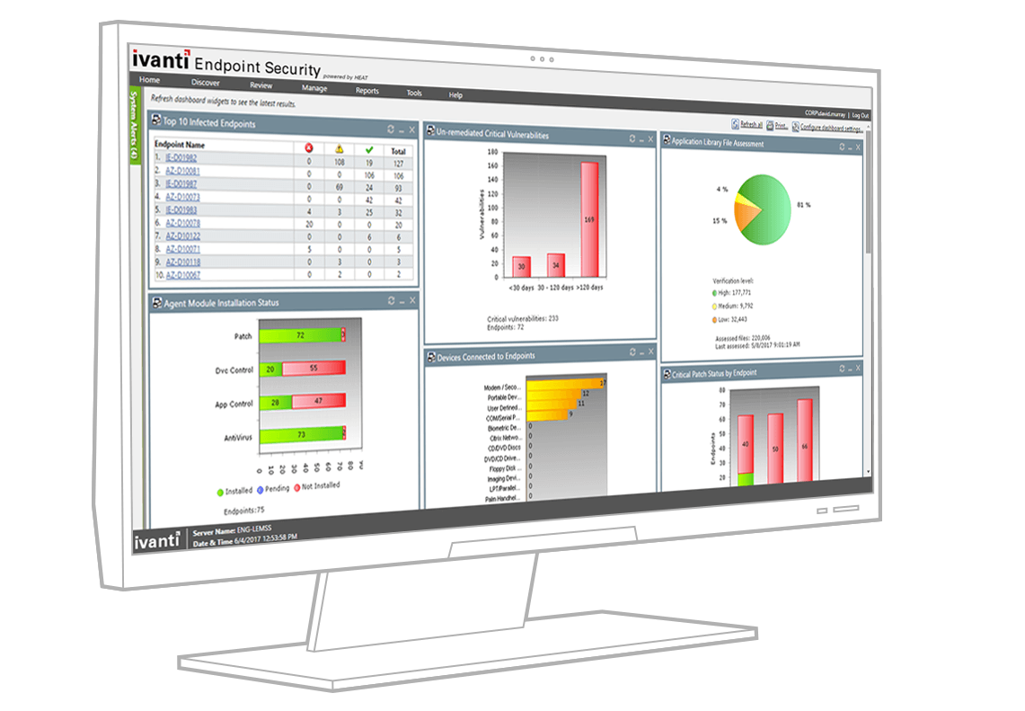 ivanti device and application control client