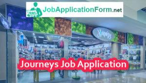 journeys shoe store job application