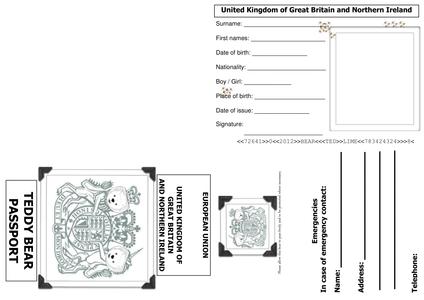 print passport application for child australia