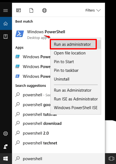 run applications as administrator from windows explorer windows 10