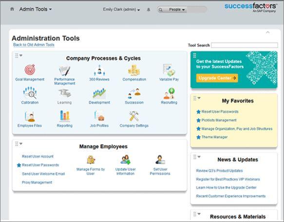 successfactors recruiting application form permissions