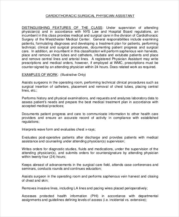 wa mbbs internship application example